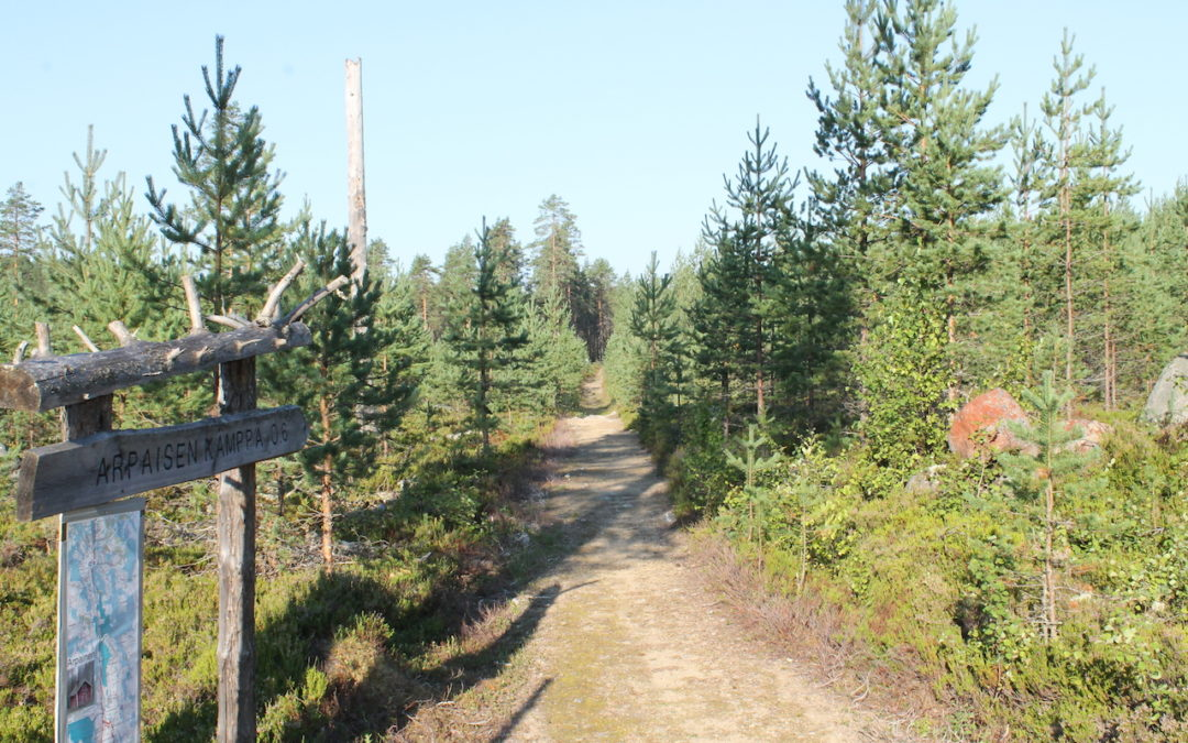Arpaisten reitti (28 km)