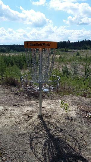 Frisbee golf -radat