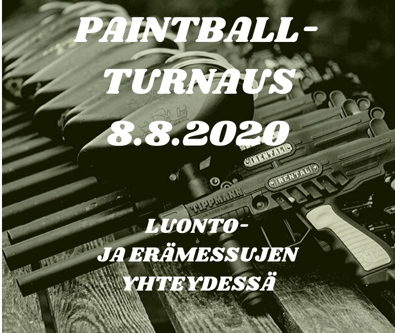 Paintball-turnaus 8.8.2020